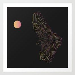 Eagle Queen Art Print