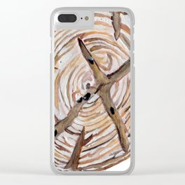 Raisin Bread - Hot Out of the Oven Clear iPhone Case