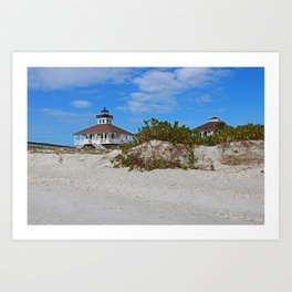 Dunes on Gasparilla I Art Print