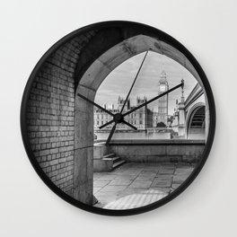 Big ben and bridge Wall Clock