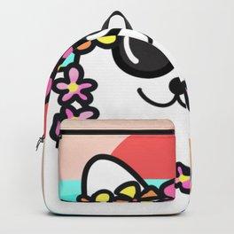 Hawaiian cat  Backpack
