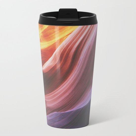 Antelope Canyon Metal Travel Mug