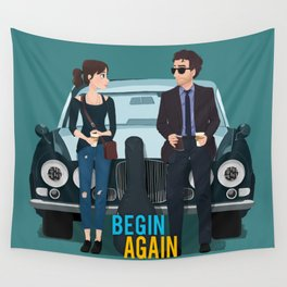 Begin Again Wall Tapestry