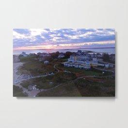 Sunset at the Ocean House Hotel - Watch Hill, Rhode Island Metal Print