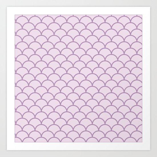 Not so neutral scalopes Art Print