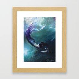 Sæglópur Framed Art Print