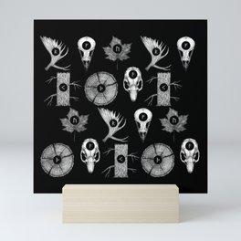 RUNES II Mini Art Print