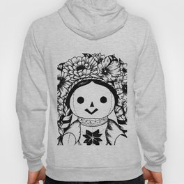 Floral Mexican Doll Hoody