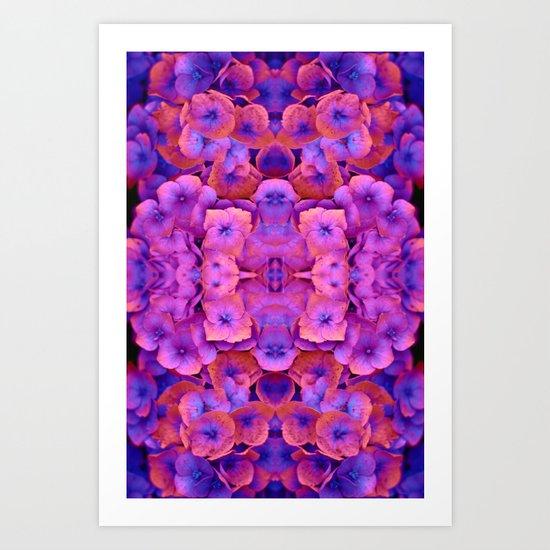Future Floral Art Print