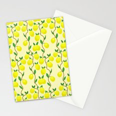 Lemon passion Stationery Cards