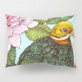 Whistling Fruit Dove in Spring Pillow Sham