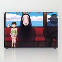 spirited away iPad Cases featuring Spirited away by Susan Lewis