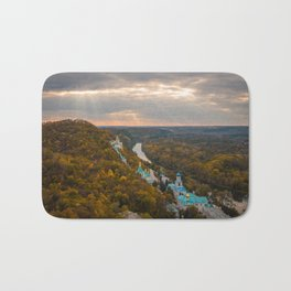 Holy Mountains Monastery (Ukraine) Bath Mat