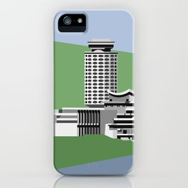 Soviet Modernism: Youth Palace in Yerevan, Armenia iPhone Case