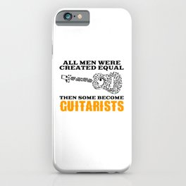 then some become guitarists iPhone Case