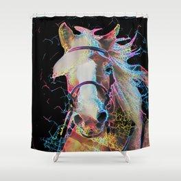 Horsepower Shower Curtain