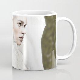 Emilia Clarke Digital Painting Coffee Mug