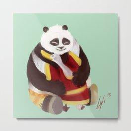 Kung Fu Panda Metal Print
