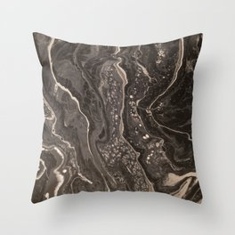 Grayscale 2.0 Throw Pillow