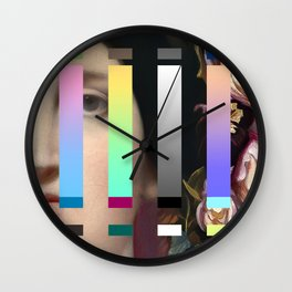 Ingres with an Interference 2 Wall Clock