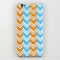 Something Fishy Zig Zag iPhone & iPod Skin
