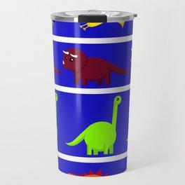 Cute Dinosaurs Travel Mug