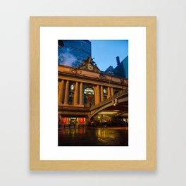 Grand Central Station Framed Art Print