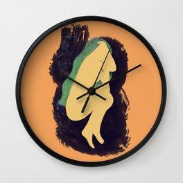 Dreaming Woman Wall Clock