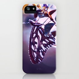 Silver Wings iPhone Case