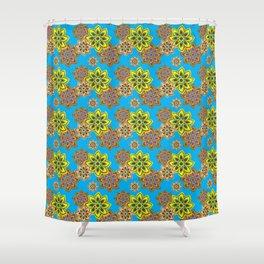 oriental Shower Curtain