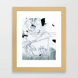 Normativität Framed Art Print