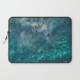 Surfing in the Ocean 2 Laptop Sleeve