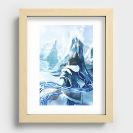 Changing Currents Recessed Framed Print