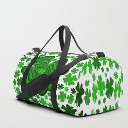 Lucky 4 Leaf Clover Duffle Bag