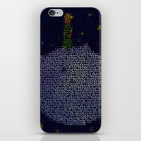 le petit prince iPhone & iPod Skins featuring LE PETIT PRINCE by Robotic Ewe