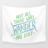 wander Wall Tapestries featuring Wander by IndigoEleven