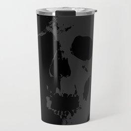 Skull - Grey Travel Mug