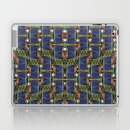 Cool Woven Blue Laptop & iPad Skin