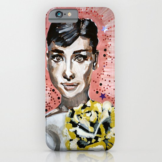 Audrey Hepburn 2 iPhone & iPod Case