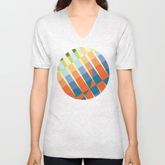 Art Deco Unisex V-Neck