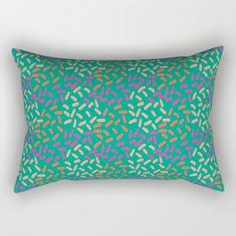 Field of lines Rectangular Pillow