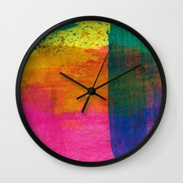 Abstract No. 408 Wall Clock