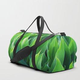 Green leaves so beautiful. Duffle Bag