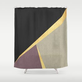 Golden line IV Shower Curtain