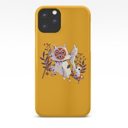 Cat Princess Mononoke iPhone Case