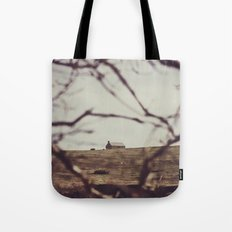 LITTLE WHITE HOUSE Tote Bag