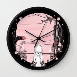 invisible girl Wall Clock