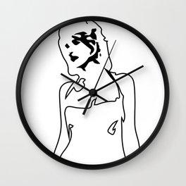 Caprica #6 Wall Clock
