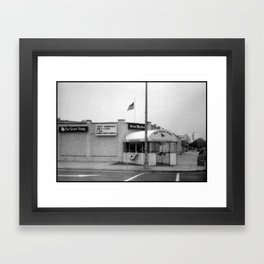 A National Landmark Framed Art Print