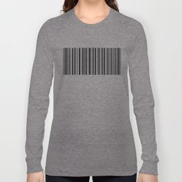 Lines,  Black & White Long Sleeve T-shirt